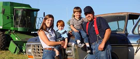 A farm family