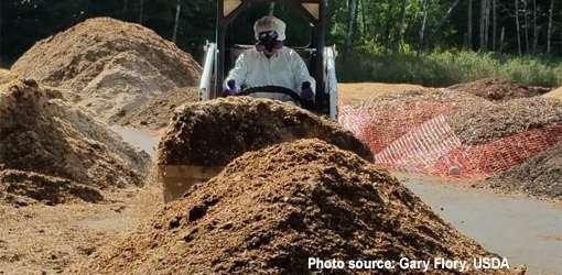 Livestock composting
