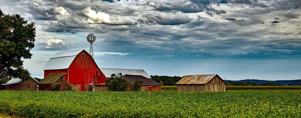 Wisconsin farm barn